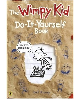 Diary Of A Wimpy Kid: Do- It- Yourself Book