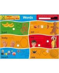 School Zone Wipe Clean Learning Mats: Words