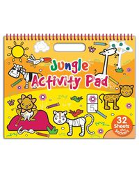 Jungle: Colouring & Activity (Landscape Doodle Pad)