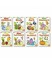 Little Artist Copy Colouring Pack: Set of 8 books
