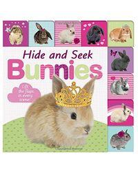 Lift- the- Flap Tab: Hide and Seek Bunnies
