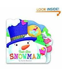 Snowman (Mini) (Peek a Boo)