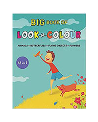 Big Book Of Look N Colour (4 In 1)