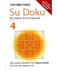 The Times Sudoku Book 4(Nr)