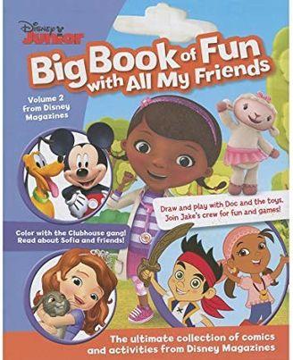 Disney Junior Big Book of Fun (Disney Big Bk Fun# 2)