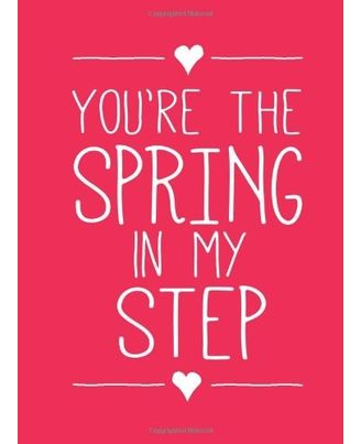 You Re The Spring In My Step (Nr)