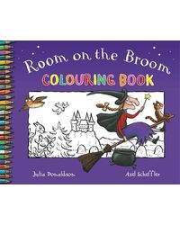 Room on the broom colouring