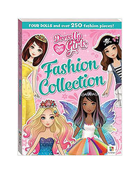 Dress- Up Girls Paper Dolls Fashion Collection