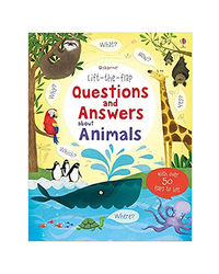 Lift- The- Flap Questions And Answers About Animals