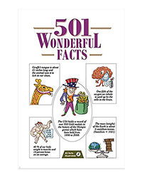501 Wonderful Facts