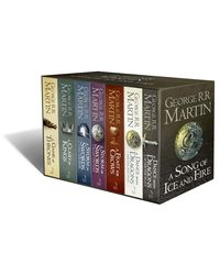 A Song of Ice and Fire- A Game of Thrones: The Complete Boxset of all 7 Books