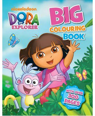 Dora the explorer big colourin
