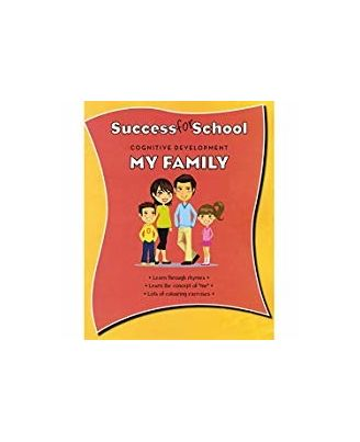 Cognitive Development My Family (Parragon_ WorkBooks)