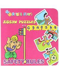 Jigsaw puzzle with ganesha