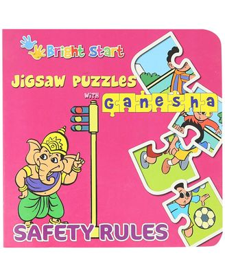 Jigsaw puzzle with ganesha