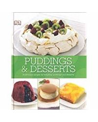 Dk Cookbook- Puddings And Desserts. . .