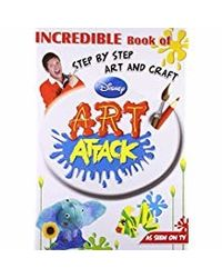 Disney Incredible Book of Step By Step Art and Craft