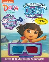 World of Adventure Ocean Sticker Book with Sticker and 3D Glasses (Dora 3D Sticker)