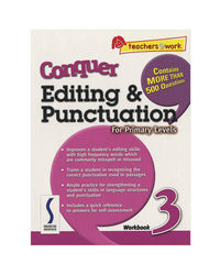 Sap Conquer Editing & Punctuation For Primary Levels Workbook 3