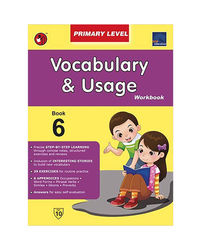 Sap Vocabulary & Usage Workbook Primary Level 6