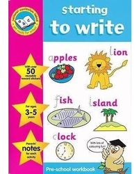Pre School Activity Workbooks with Reward Stickers