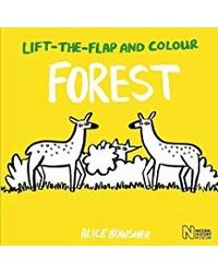 Lift- the- flap and Colour: : Forest