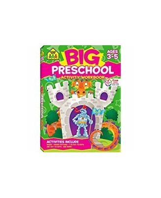 Big Preschool Activity: Ages 3- 5 (School Zone)