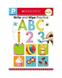 Write and Wipe Practice Flip Book: ABC 123 (Scholastic Early Learners) (Scholastic Early Learners