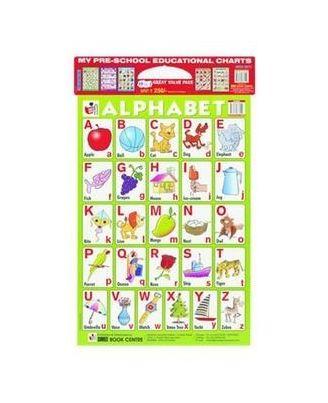 My Preschool Educational Charts Red Set