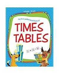 My First Padded Board Books of Times Table: Multiplication Tables From 1- 20