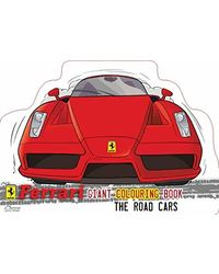 Ferrari road car colouring- pas
