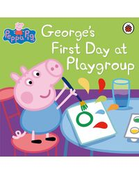 Peppa pig: georges first day at