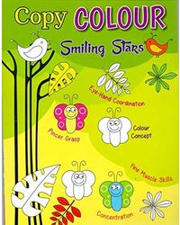 Copy Colour Smiling Stars
