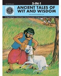 Ancient Tales of Wit and Wisdom: 5 in 1