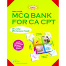 Padhuka's MCQ Bank For CA CPT, 3rd Edition