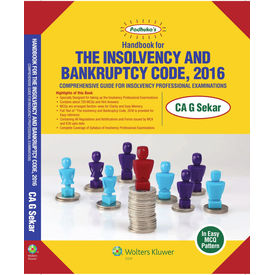 Handbook for The Insolvency and Bankruptcy Code, 2016