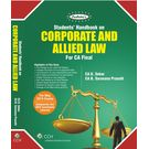 Students Handbook for Corporate and Allied Law (CA Final) , 4e
