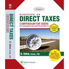 Padhuka's Handbook on Direct Taxes- Compendium for Users 2015- 16