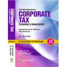 Simplified Approach to Corporate Tax Planning and Management (AY 2017- 2018) , 18E