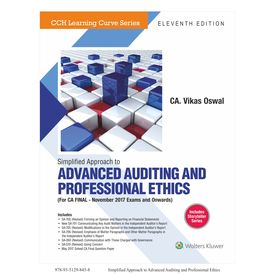 Simplified Approach to Advanced Auditing and Professional Ethics (CA Final) , 11E