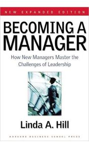 Becoming a Manager: Mastery of a New Identity- - Pb