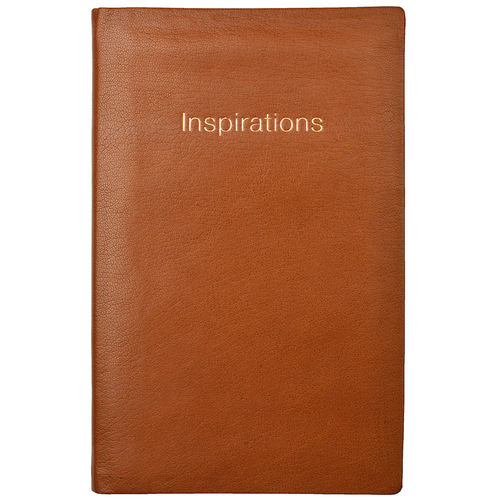 Inspirations Notebook, maori,  black
