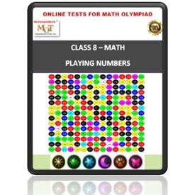 Class 8, Playing with numbers, Online test for Math Olympiad