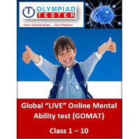Global LIVE Online Mental ability tests (GOMAT), class 4
