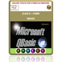 Class 6, Introduction to Qbasic, Online test for Cyber Olympiad, NCO