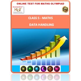 Class 5, Data handling, Online test for Math Olympiad
