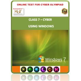 Class 7, Using Windows, Online test for Cyber Olympiad