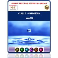 Class 7, Water, Online test for Science Olympiad