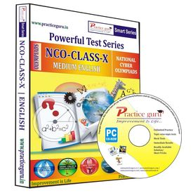 Class 10- NCO Olympiad preparation- Powerful test series (CD)