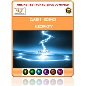 Class 6, Electricity, Online test for Science Olympiad